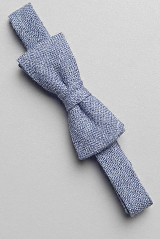 FAIRFAX - Oxford Pre-Tied Bowtie in Grey