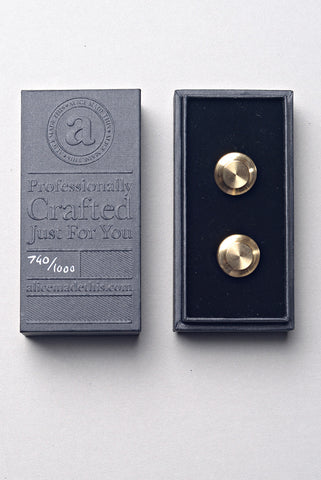 ALICE MADE THIS - Edward Cufflinks in Brass