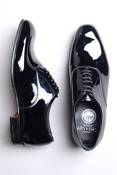 JOSEPH CHEANEY - Kelly in Black Patent Leather Oxford