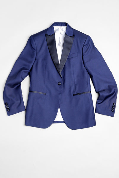 BROOKLYN TAILORS - BKT50 Tuxedo Jacket in Navy Super 110s