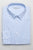 BROOKLYN TAILORS - BKT20 Pinstripe Dress Shirt - White and Sky