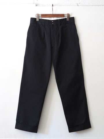 FUJITO - Wide Slacks in Navy