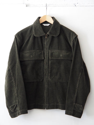 FINAL SALE: FUJITO - Military Blouson in Corduroy - Olive