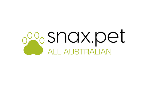 snax.pet Logo. Supplier of premium quality all natural pet treats within Australia.