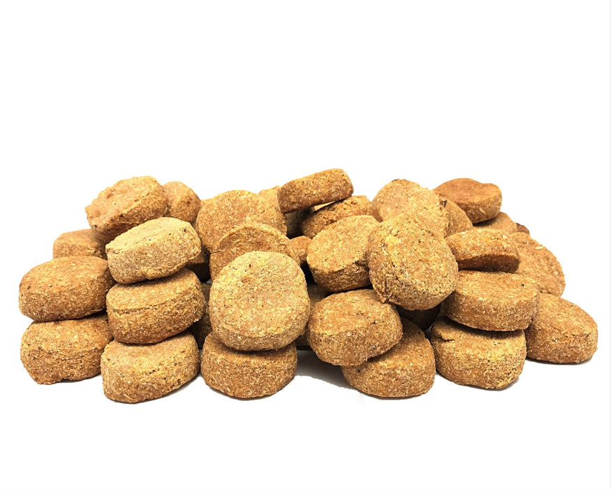 Dogs love these, mini beef liver biscuit treats. All natural, made in Australia. snax.pet