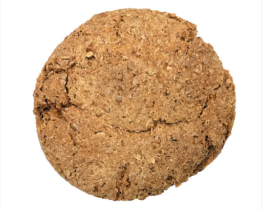 Double choc chunk dog biscuit standard size, dog treat. No dog biscuit recipe required. snax.pet