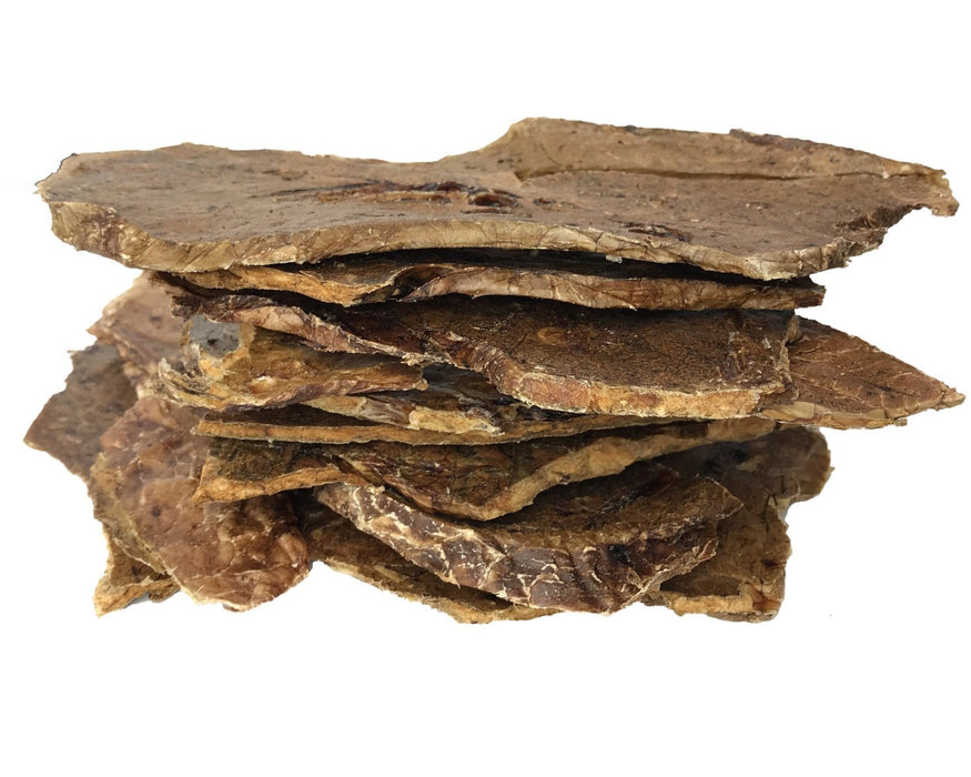Beef Puff dog treat. Dehydrated in a low temperature oven and dried. Suitable as a pet training treat. Buy online at snax.pet