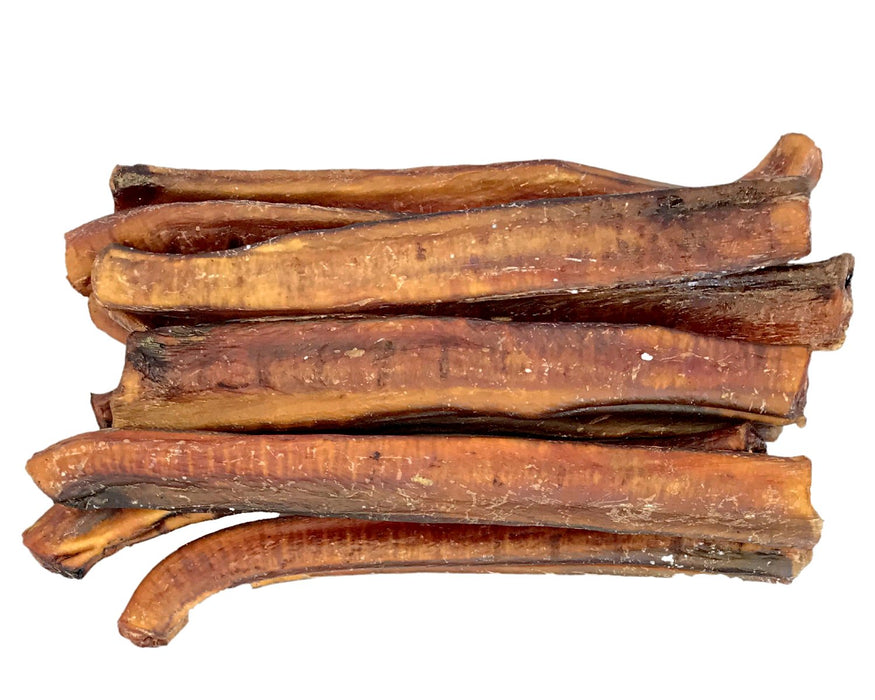 Extra Thick Bully Stick or Beef Whizzer pet treats. Dogs love these chew treats. All Natural, All Australian produce. Available from snax.pet