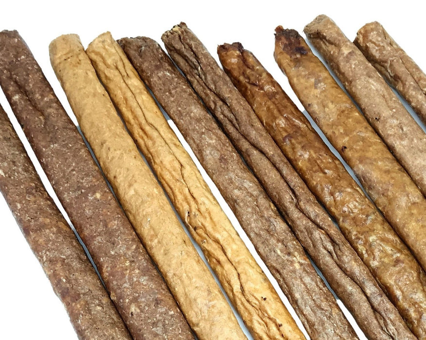 Smokey Porky Bacon Quik Stix manufactured in Queensland, Natural Australian. Pet treats are available from snax.pet