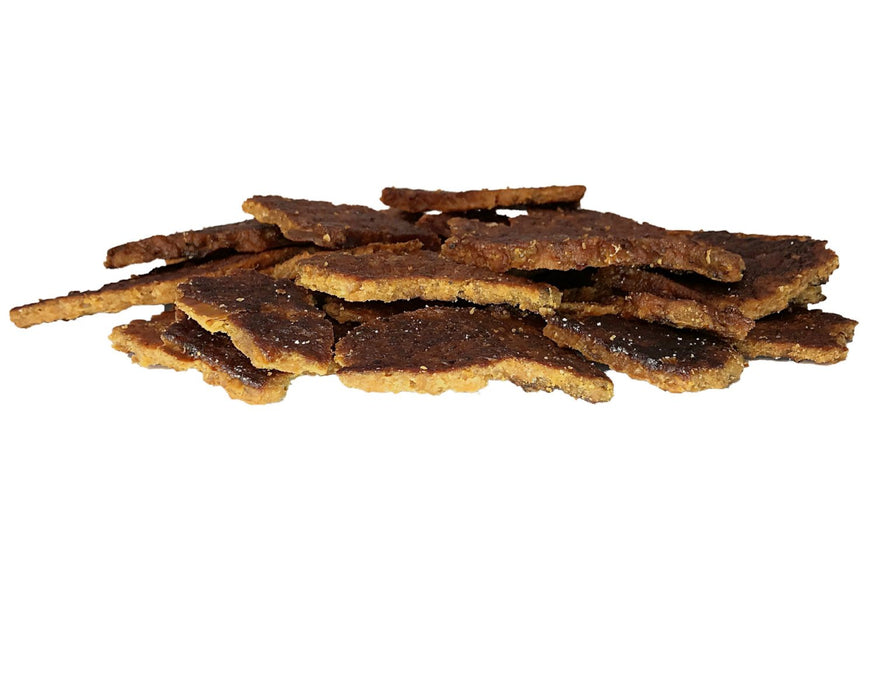 Tasmanian Salmon, Smoked and oven dried pet treat. All natural available from snax.pet