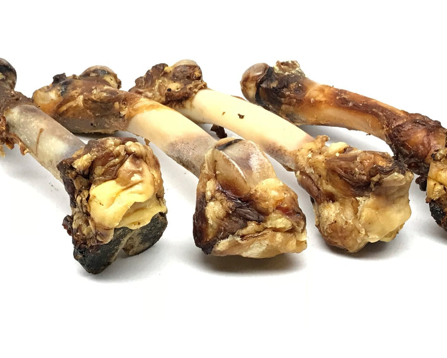 Lamb leg bone pet treat. These bones are also know as Lamb Shank Bones. They are sourced from Australia. Available to purchase for your pet at snax.pet