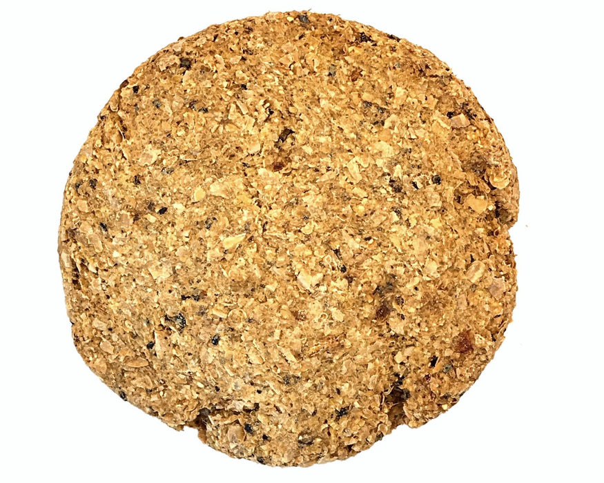 Beef liver dog biscuit standard size, dog treat. No dog biscuit recipe required. snax.pet