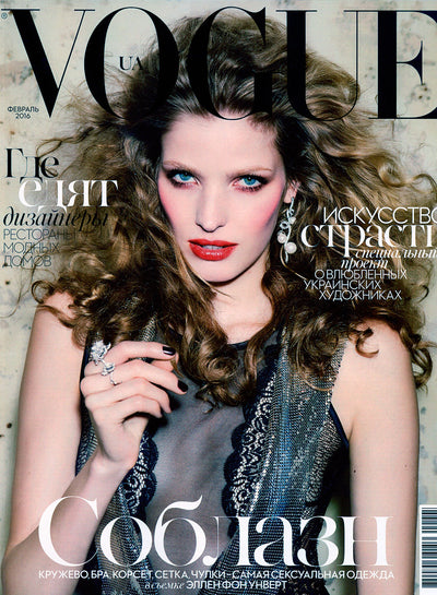 <strong>VOGUE</strong> - UKRAINE - 02/2016