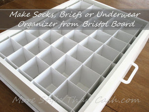 Mercilessly Beautiful Underwear Drawer Organizer