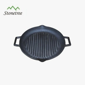 Cool Round Cast Iron Griddle