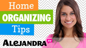 Sign-up for my FREE Organizing Video Series Here! -