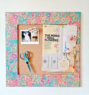 If you've never used cork in any of your DIY projects you've been missing out on a lot of fun features and ideas