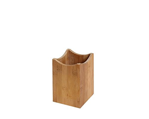 YBM HOME Bamboo Utensil Holder for Kitchen Cooking Tools, Cutlery, and Silverware 331