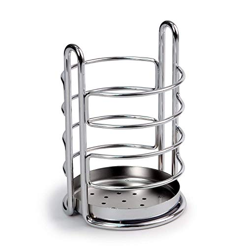 Spectrum Diversified Euro Utensil Holder, Chrome
