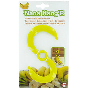 "Banana Hook Hanger Holder Space Saving for Cabinet Door ""Nana Hang'R"
