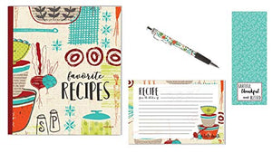 Recipe Binder Set with Recipe Cards (Made with Love)