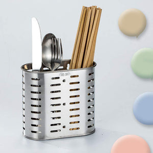 BESTONZON Utensil Flatware Utensil Holder Sink Caddy Organizer for Chopsticks Spatula Spoon Fork Knife