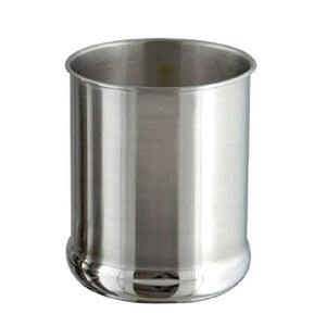 nu steel TG-UHB-4RS Utensils Holder Bulged 4 Qt, 7.5'' H x 7.5'' W x 7.5'' D, Mirror