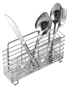 Adhesive 304 Stainless Steel Utensil Drying Rack, Toothbrush Holder Toothpaste Holder, Tool Organizer, Multi-Purpose Storage Basket - Rust Proof, No Drilling