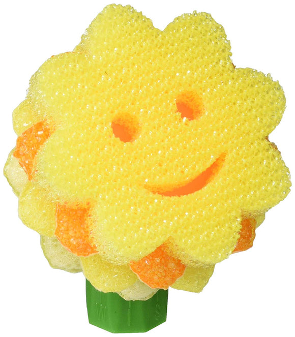 Scrub Daddy – Scrub Daisy Dishwand System - Replacement Head - The Sunflower Pot & Pan Scourer