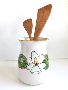 Magnolia Utensil Holder