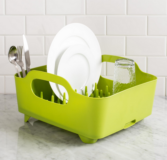 Tub Dish Rack, Avocado