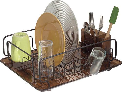 Amber Bronze Forma Lupe Dish Drainer