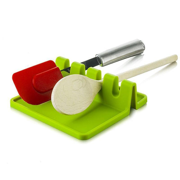 Heat Resistant Silicon Kitchen Utensil Holder
