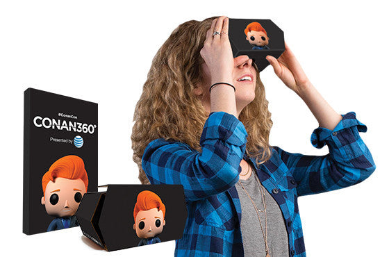 Custom Branded Cardboard Virtual Reality Viewers