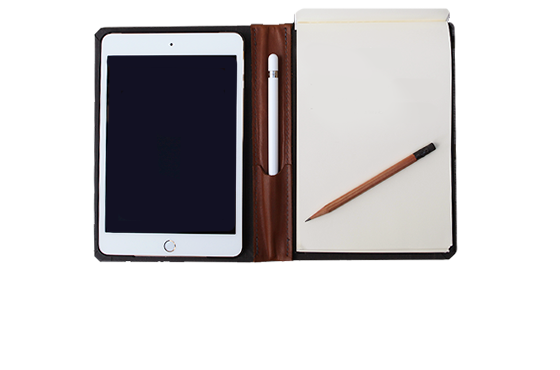Customizable Folio for iPad Air, Mini, or Pro