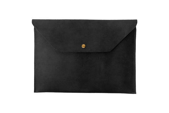 Leather Laptop Portfolio
