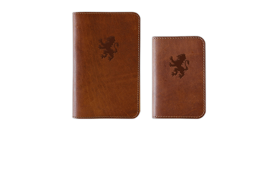 Branded Leather Journal Cover