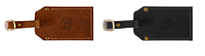 Branded Leather Luggage Tag Variants