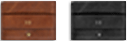 Branded Leather Card & Cash Wallet Variants