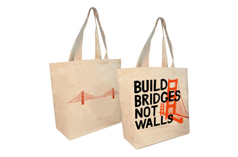 Bridges of Love Canvas Tote