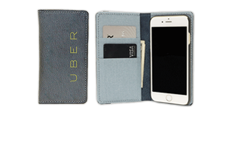 Branded iPhone Wallet Case