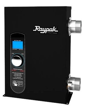 Raypak Digital E3T 5.5 KW Heater - 017121-Aqua Supercenter Pool Supplies