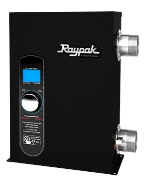 Raypak Digital E3T 11 KW Heater - 017122-Aqua Supercenter Pool Supplies