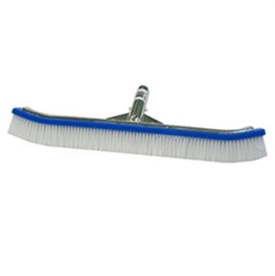 "18"" Combo Pool Brush - 50 SS - 50 Nylon-Aqua Supercenter Outlet - Discount Swimming Pool Supplies"