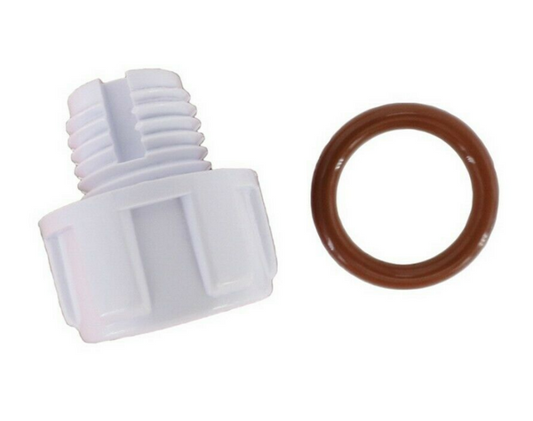 Custom Molded Products CMP PowerClean Drain Plug with O-ring - 25376-900-500