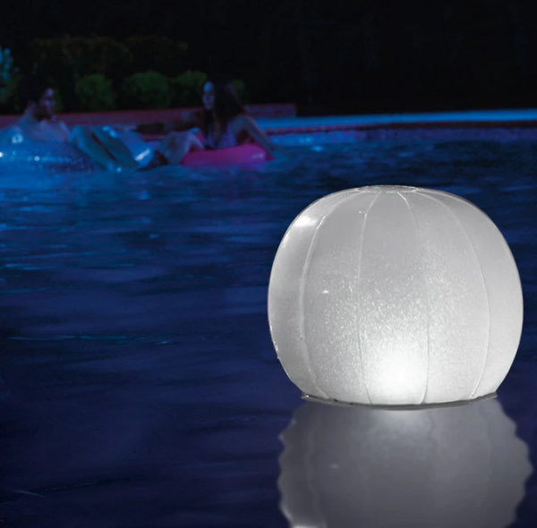 Intex Floating Multi-color LED Ball - 28693E