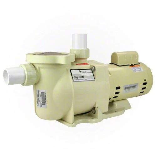 Pentair SuperFlo 1 HP Single Speed Pool Pump - 340038-Aqua Supercenter Pool Supplies