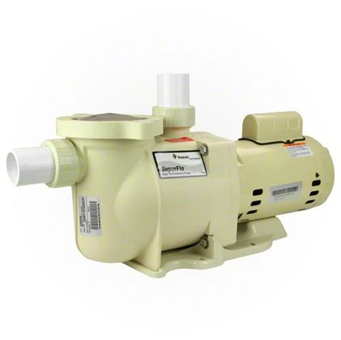 Pentair SuperFlo 1.5 HP Single Speed Pool Pump - 340039-Aqua Supercenter Pool Supplies