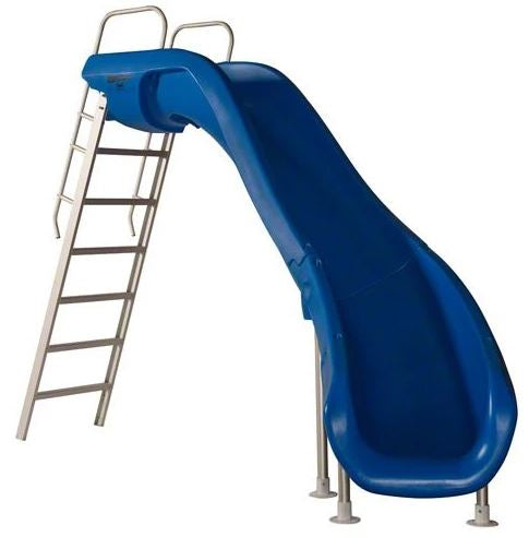 SR Smith Rogue 2 Pool Slide Blue Right Curve - 610-209-5813-Aqua Supercenter Pool Supplies