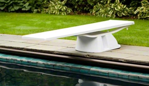 S.R. Smith Salt Pool Jump System Base Taupe - 69-209-610-Aqua Supercenter Pool Supplies